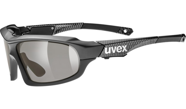 cycling eyewear - uvex variotronic ff - black carbon | uvex sports