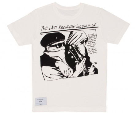 DSM E-SHOP : Inoue Brothers Sonic Youth Men's T-Shirt (White)