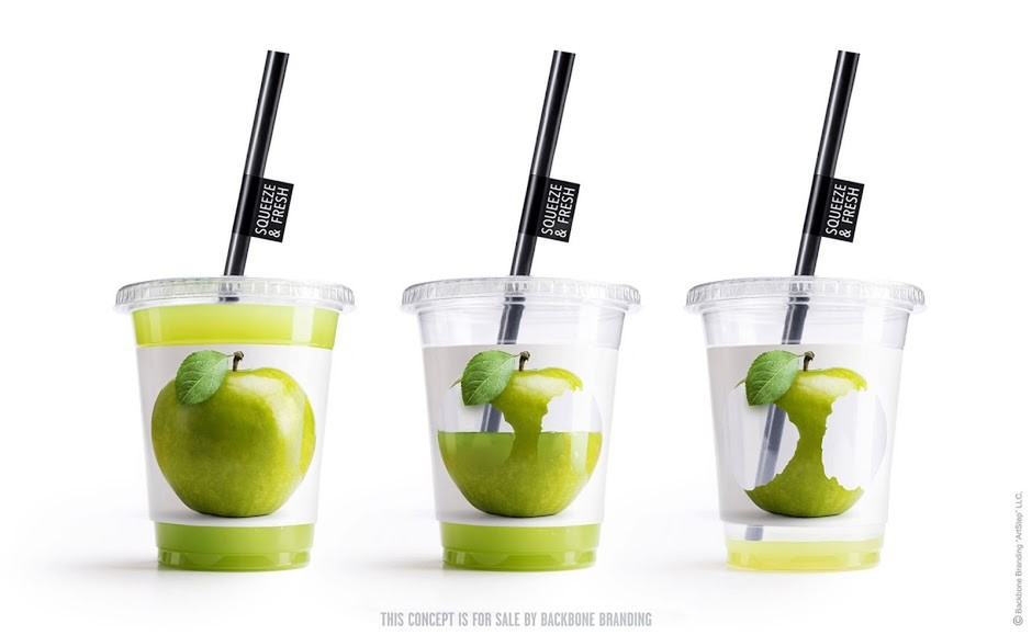 Squeeze & Fresh on Packaging of the World - Creative Package Design Gallery