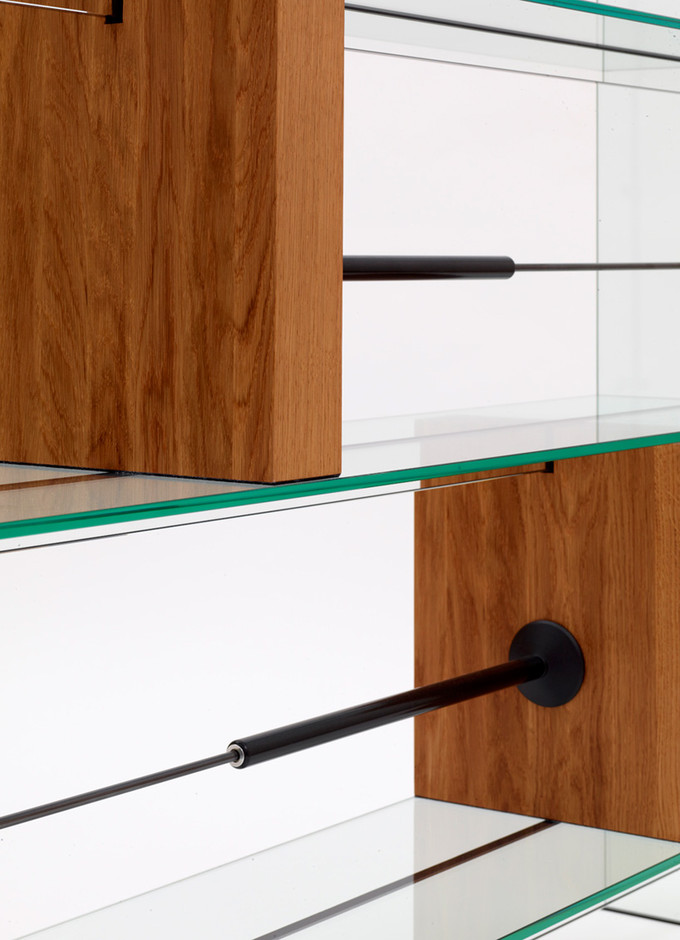 man machine glass furniture by konstantin grcic at galerie kreo