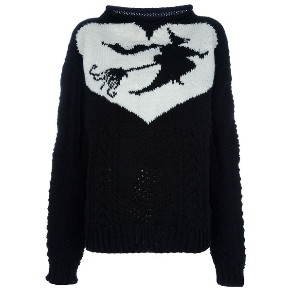 MEADHAM KIRCHHOFF 'the witch' jumper - Polyvore