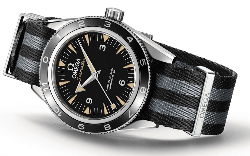 Omega Seamaster 300 'Spectre' Limited Edition Watch For James Bond Spectre Movie | aBlogtoWatch