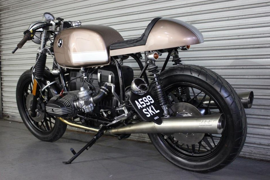"Racing Cafè: Bmw R100 RS ""Erica!"" by Kevils Speed Shop"