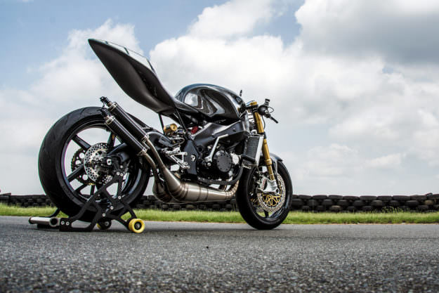 This 'Yamaprilia' is the Maddest Two-Stroke On The Track | Bike EXIF