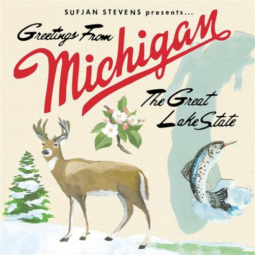 Amazon.co.jp: Greetings From Michigan the Great Lake State: Sufjan Stevens: 音楽