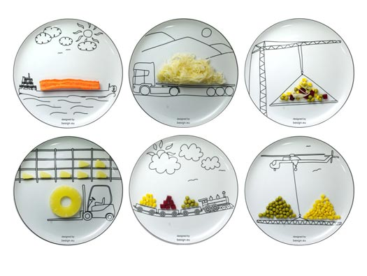 Transportation Plates by Boguslaw Sliwinski