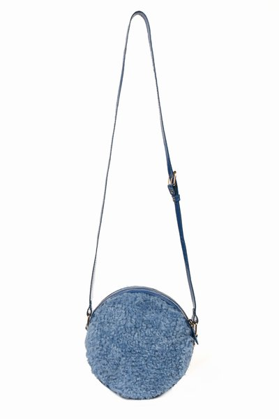 CHLOE SEVIGNY FOR OPENING CEREMONY FAUX FUR CIRCLE BAG - WOMEN - CHLOE SEVIGNY FOR OPENING CEREMONY