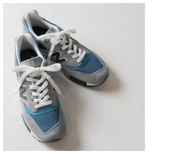 New Balance M998MD 'Moby Dick' - Made in the USA (Grey & Cobalt)