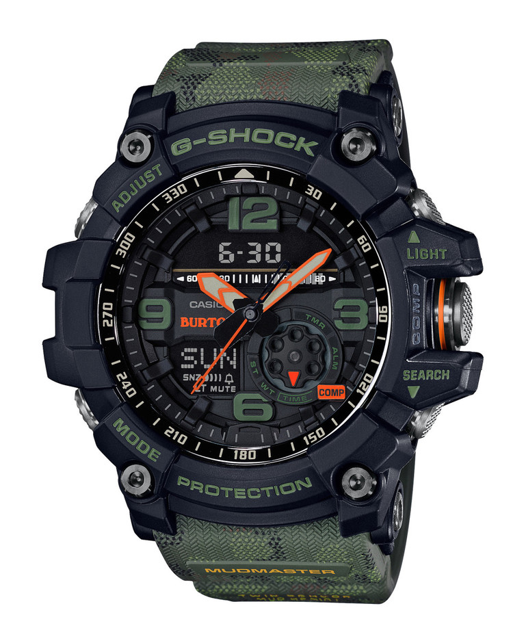 Duck Camouflage Covers the Burton x G-Shock MUDMASTER GG1000BTN-1A - Freshness Mag