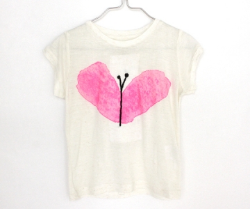 soft gallery(ソフト ギャラリー)/Lili tshirt fly heart emb.print - 子供服の通販サイト doudou jouons