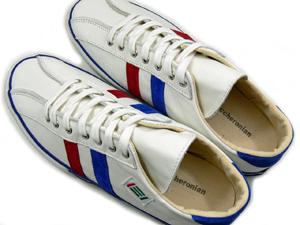 Rakuten: Macaroni Ann (maccheronian) 2215L(WHT/RED/BLUE) point 10 times / sneakers / shoes / handmade / / free shipping [ky] tomorrow for comfort- Shopping Japanese products from Japan