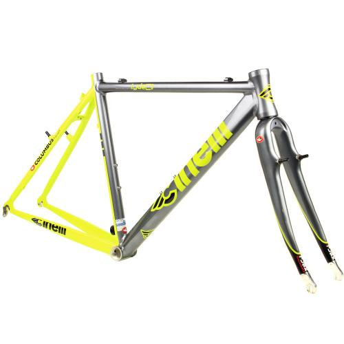 BLUE LUG / *CINELLI* zydeco cyclocross frame (gray/yellow)