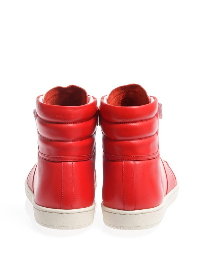 Saint Laurent SL/12H High-Top Sneaker at Barneys.com