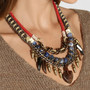 DANNIJO | Levi III oxidized silver-plated, bead and suede necklace | NET-A-PORTER.COM