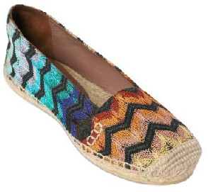 Missoni Espadrille Flats | Designer Shoes & Shoe Reviews