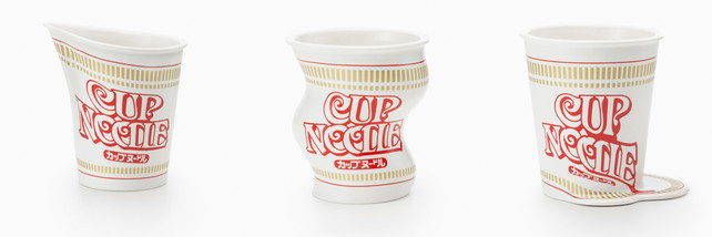 Ramen Cups Become Surreal Porcelain Mementos Of Your College Years | Co.Design: business + innovation + design