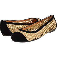 Marc by Marc Jacobs 625137/13 Suede Black/Synthetic Lame Gold - Zappos Couture