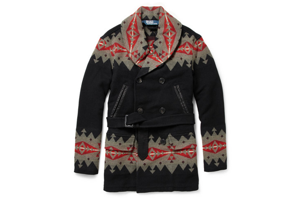 Polo Ralph Lauren Native American Patterned Wool-Blend Coat | Hypebeast