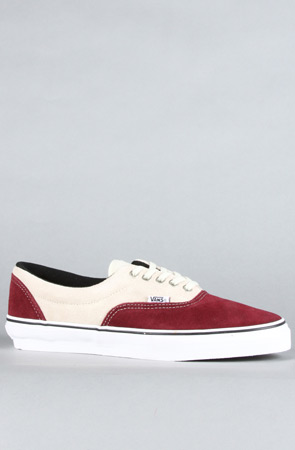 Vans Footwear The Era Pro Sneaker in Burgundy : BrickHarbor.com - The World's Local Skateshop