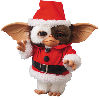 Gremlins - Vinyl Collectible Dolls: Prop Size GIZMO(SANTA Ver.) | グレムリン | メディコム・トイ : BLISTER - ブリスター