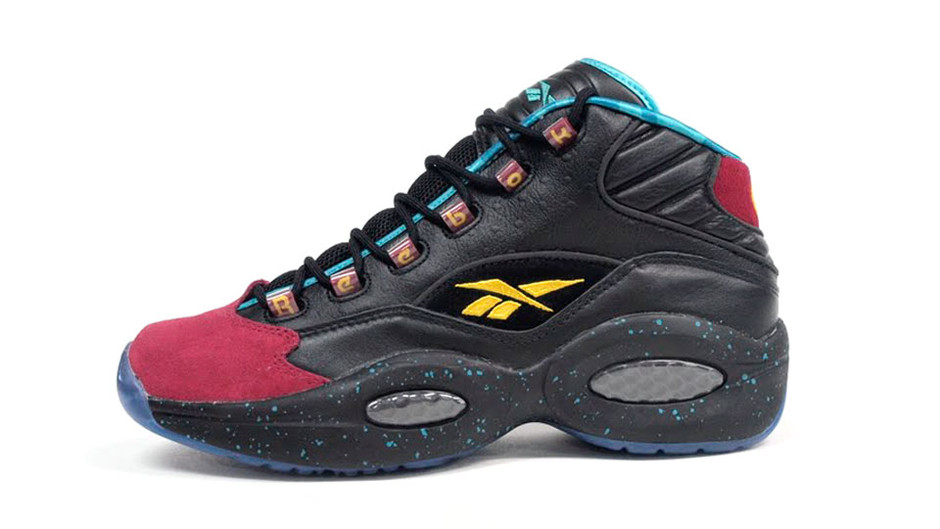 QUESTION MID 「BURN RUBBER」 「LIMITED EDITION」 BLK/BGD/E.GRN リーボック Reebok | ミタスニーカーズ|ナイキ・ニューバランス スニーカー 通販