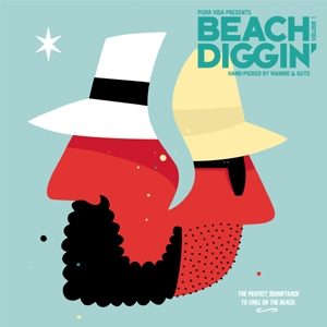 V.A. / BEACH DIGGIN : HAND-PICKED BY MAMBO & GUTS   Record CD Online Shop JET SET / レコード・CD通販ショップ ジェットセット