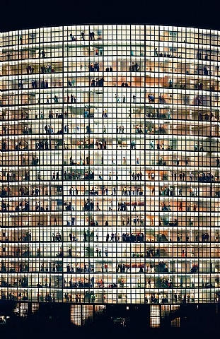 artnet Galleries: May Day V by Andreas Gursky from The Aaron Gallery