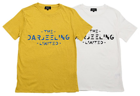 The Darjeeling Limited x APC T-shirt | Hypebeast
