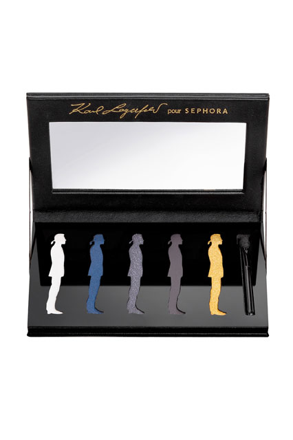 Karl Lagerfeld Cosmetics For Sephora (Vogue.com UK)