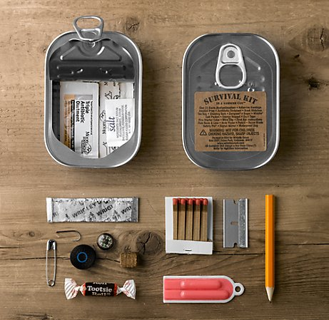Survival Kit in a Sardine Can™ | Avid Angler | Restoration Hardware