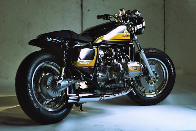 Honda Goldwing Cafe Racer ~ Return of the Cafe Racers