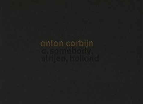 Amazon.co.jp: Somebody: Anton Corbijn: 洋書