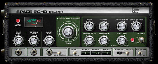 Roland® RE-201 Space Echo Tape Delay & Spring Reverb Plug-In | Universal Audio