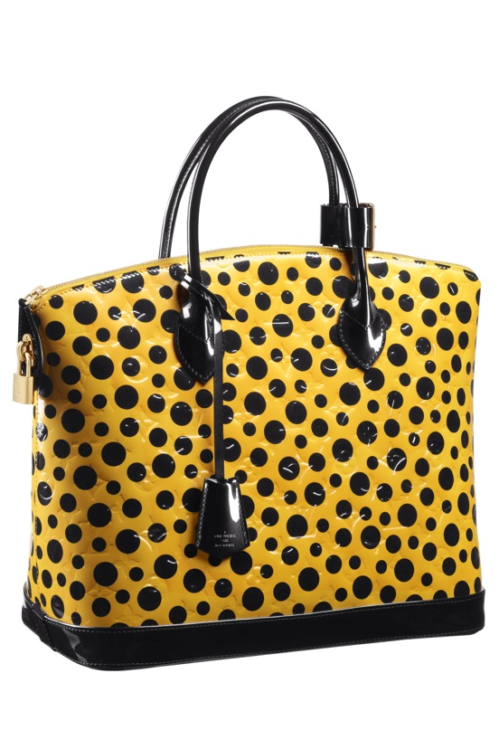 Yayoi-Kusama-Louis-Vuitton-Lockit-MM-Monogram-Vernis-Dots-Infinity-yellow.jpg (552×828)