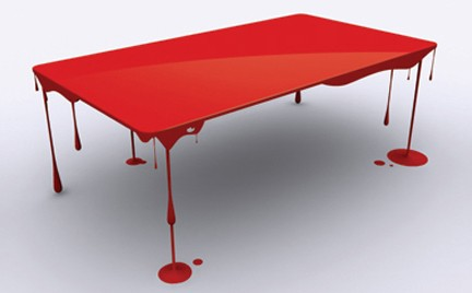 Interior Furniture » Blog Archive » Bloody Table By John Nouanesing 2 | Home Furniture | Interior Furniture | Best Furniture | Recycled Furniture | Unique Furniture