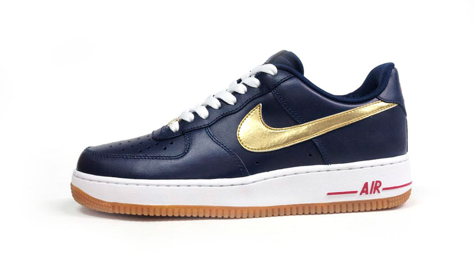 AIR FORCE I 07 「LIMITED EDITION for ICONS」 NVY/GLD/WHT/RED/GUM ナイキ NIKE   ミタスニーカーズ ナイキ・ニューバランス スニーカー 通販