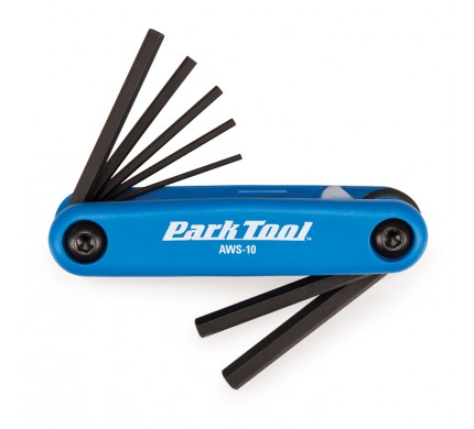 Park Tool Co. » AWS-10 : Fold Up Hex Wrench Set : Hex Wrenches