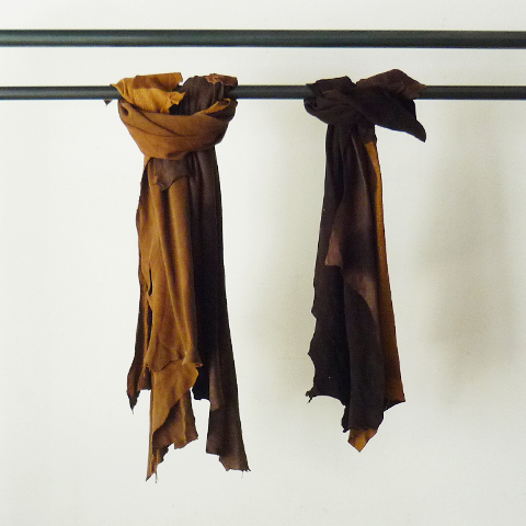 TAKAHIROMIYASHITA The SoloIst. Jungle Scarfs.0253 - Silver and Gold Online Store