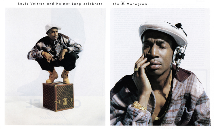 People: Grand Master Flash x Helmut Lang x Louis Vuitton (1996)   Marcus Troy