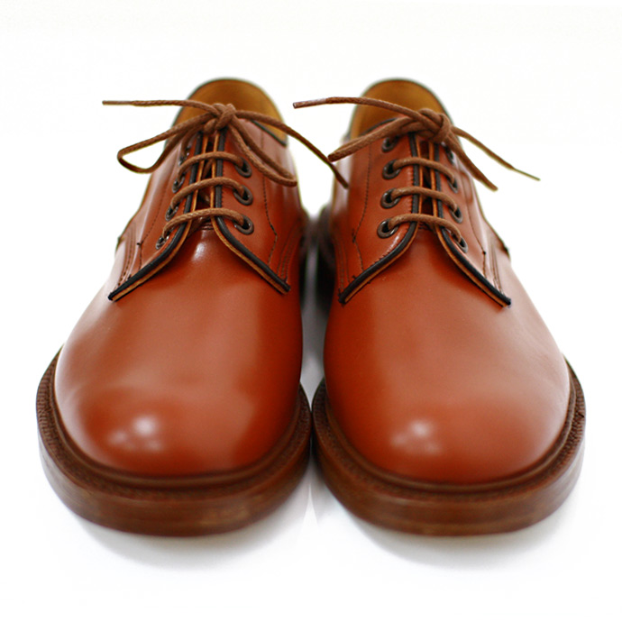 Tricker's / Woodstock - Moccasin Brown Leather(トリッカーズ/ウッドストック モカシンブラウン レザー) - Eight Hundred Ships & Co.