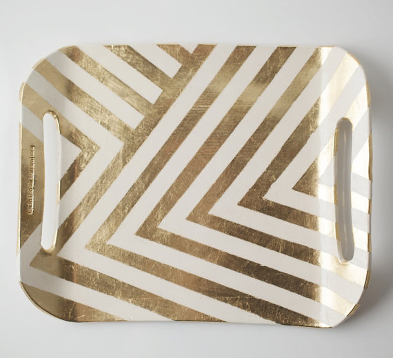 Etsy Transaction - Zig Zag Tray