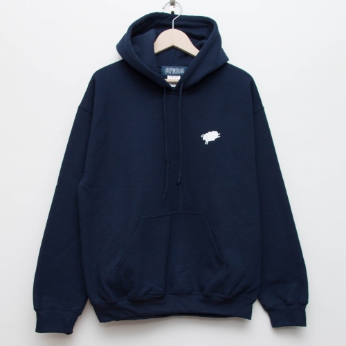 PTD Eco Hoodie - Navy - cup and cone WEB STORE