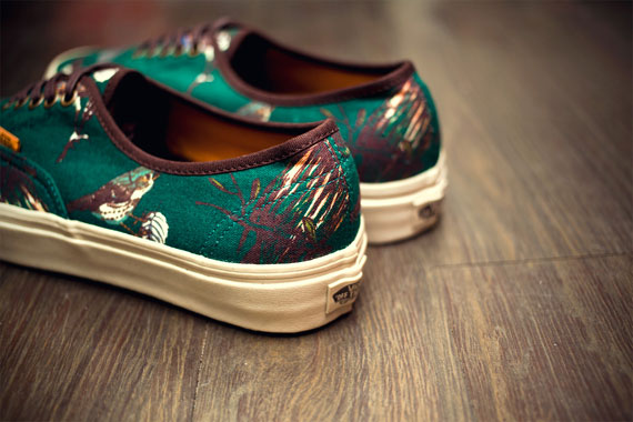 "Vans California 2012 Fall/Winter ""Birds"" Authentic CA Pack 