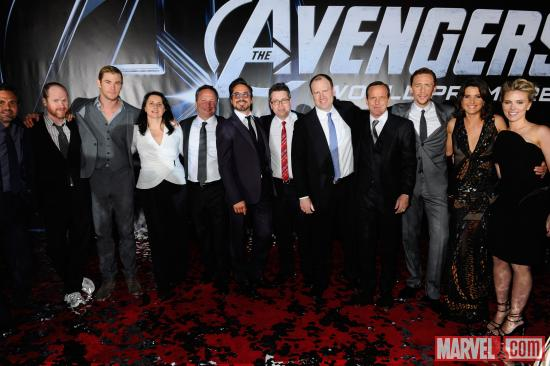 The cast and crew of Marvel's The Avengers | Apps | Marvel.com