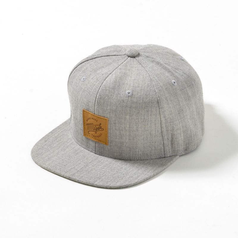 MM Leather patch SNAP BACK [HOME MADE TASTEEEE] - MMGSK