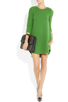 3.1 Phillip Lim | Wool-crepe shift dress | NET-A-PORTER.COM