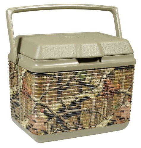 Amazon.com: Rubbermaid 10-Quart Mossy Oak Ice Chest with Breakup Infinity Pattern: Home & Kitchen
