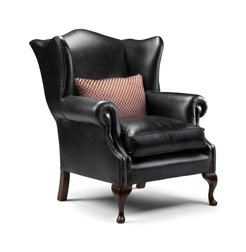 Watson classic victorian fireside wing chair