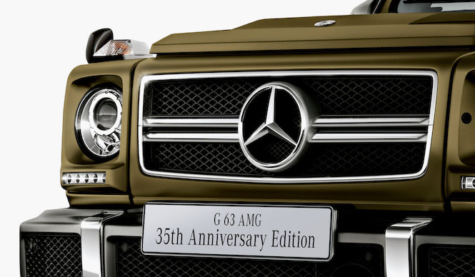 Gallery|Gクラス誕生35周年を祝う2台の特別仕様車|Mercedes-Benz | Web Magazine OPENERS - Mercedes-Benz