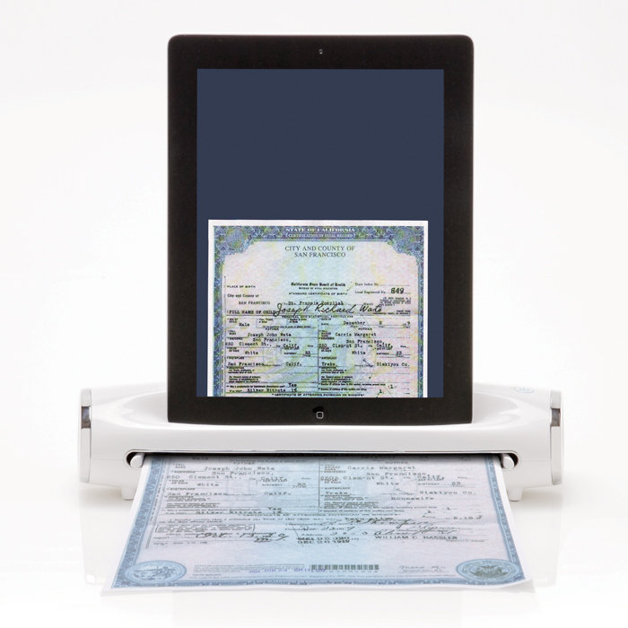 iConvert® Scanner for iPad or iPad 2 Tablet at Brookstone—Buy Now!